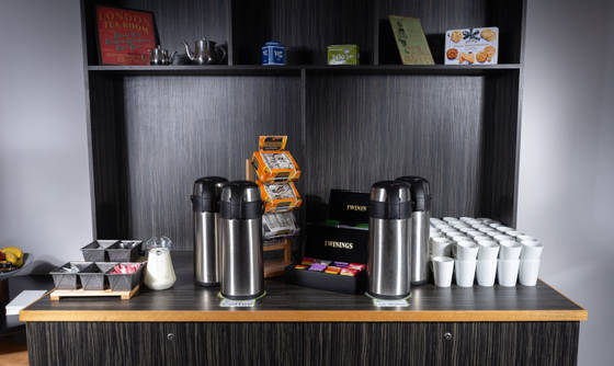 Tea & Coffee Station