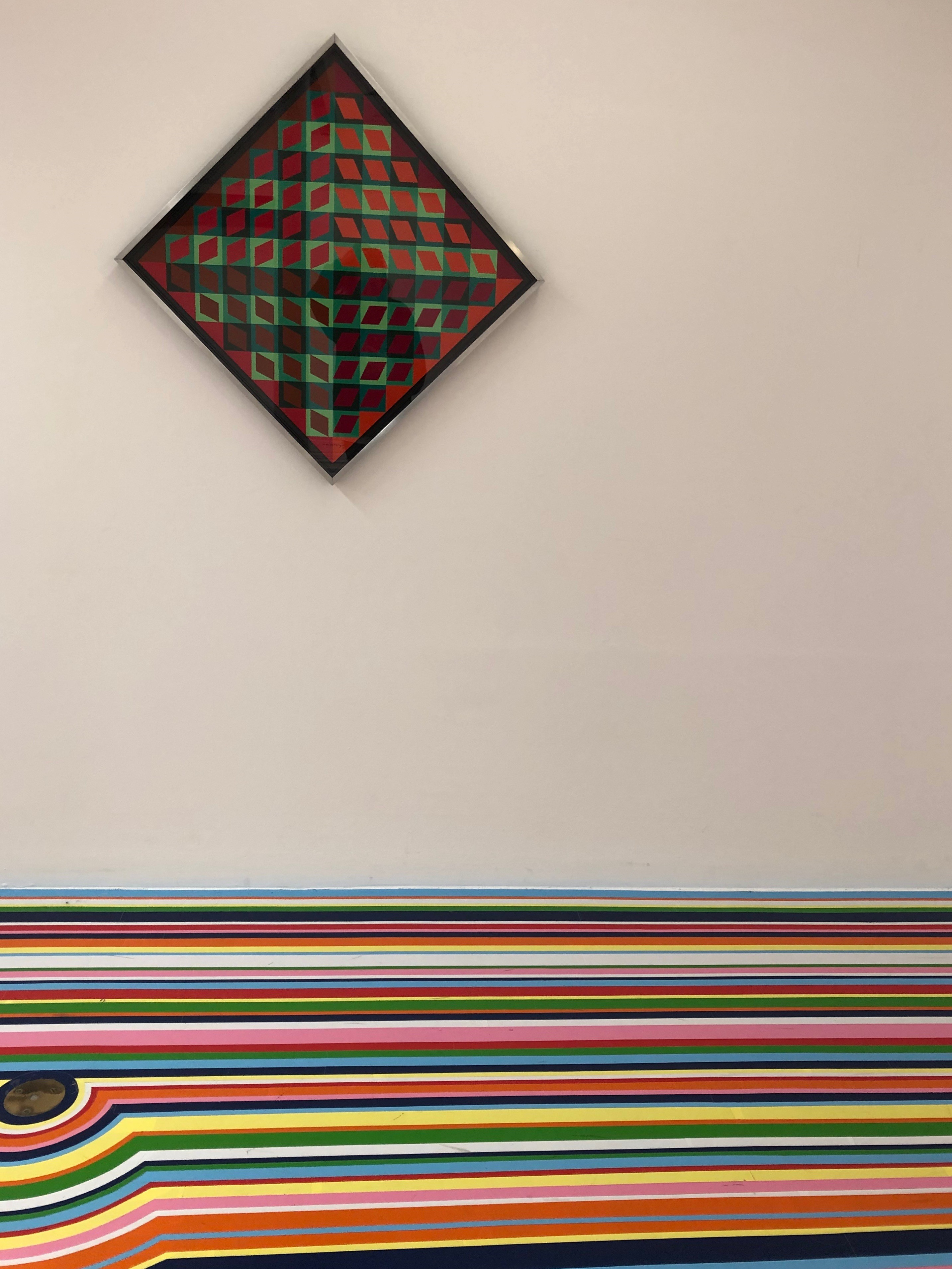 An exhibition at Tate Liverpool and vibrant flooring